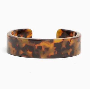 3/$50 NWT Torrid resin tortoiseshell cuff bracelet